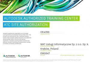 autoryzowane centrum szkoleniowe autodesk